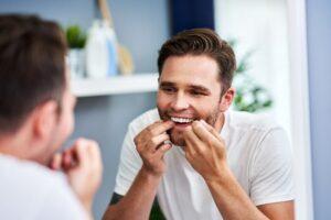 Dental flossing technique